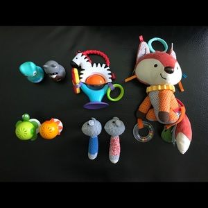 Fox & Rattles Toy Lot